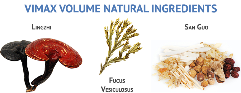 vimax volume ingredients